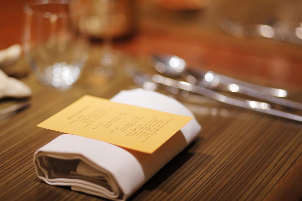 IL TEATRINO DA SALONE(イル テアトリーノ デ サローネ)テーブルセット