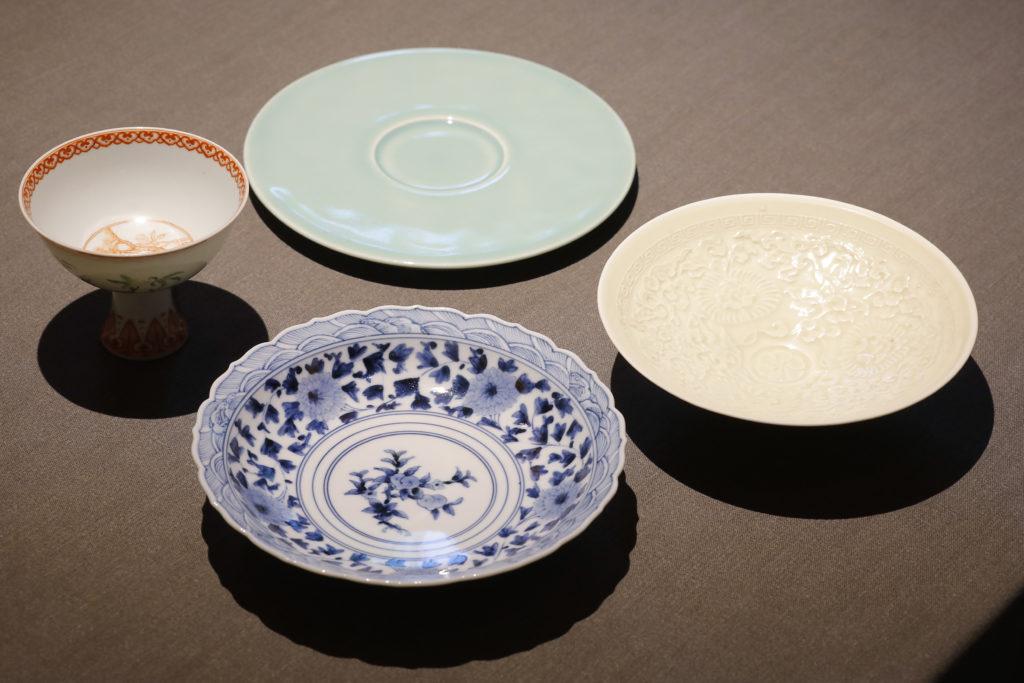 茶禅花_日本の器と中国の器
