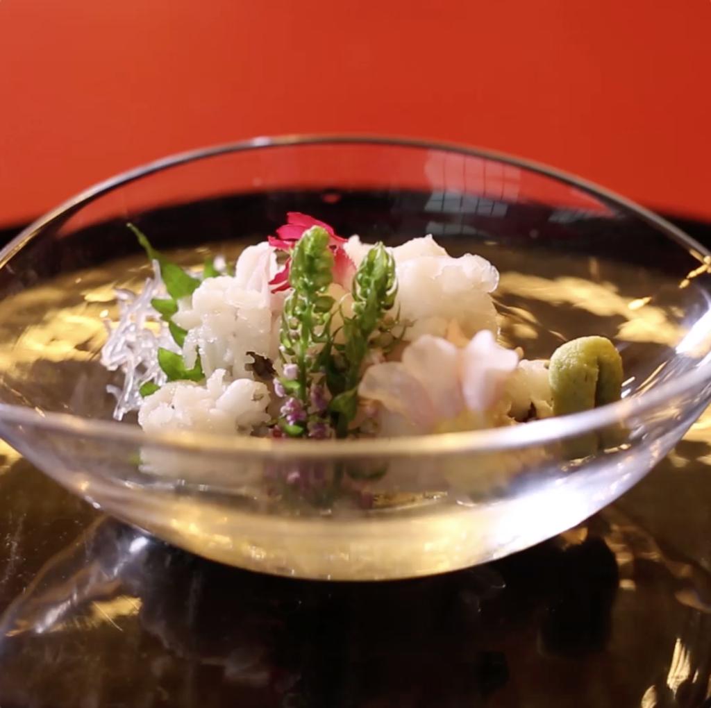Conger pike cooked in oil|Toyonaka Sakurae