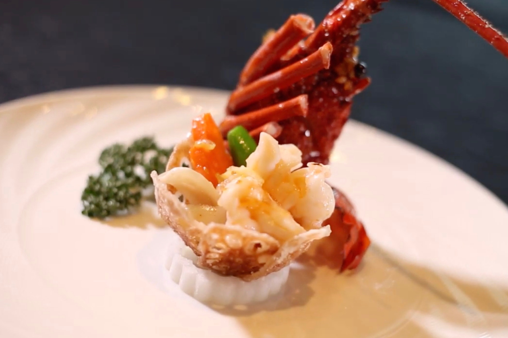 Stir Fried Shelled Ise Lobster│ Chinese Restaurant−−Imperial Palace