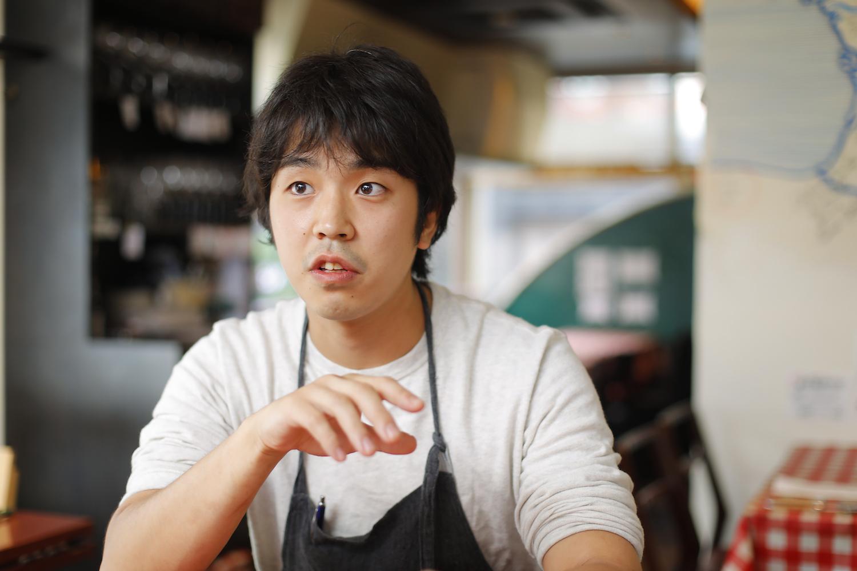 Entraide(アントレイド)の料理長・工藤真樹さんの写真