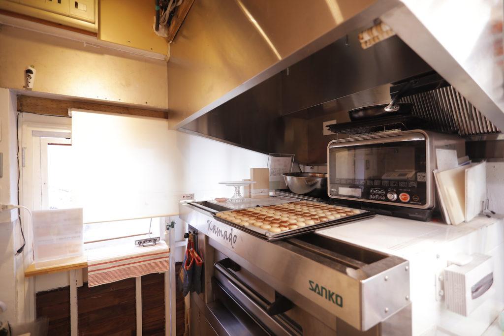 le petit coeurのキッチン風景の写真