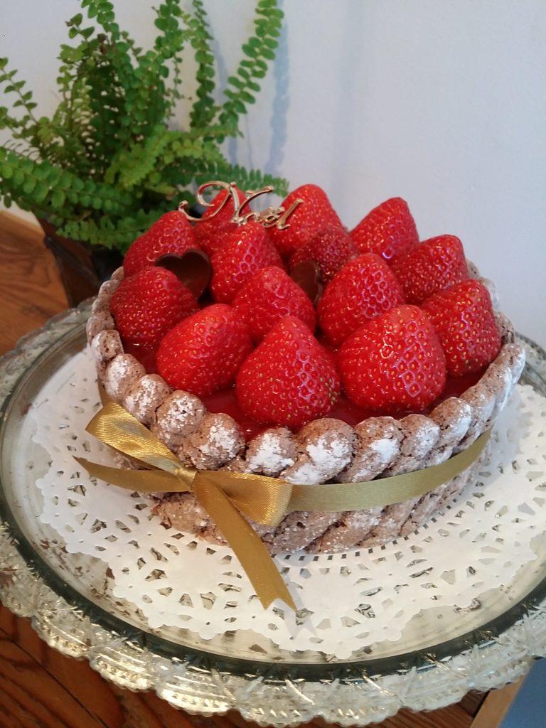川村さんお手製のケーキ