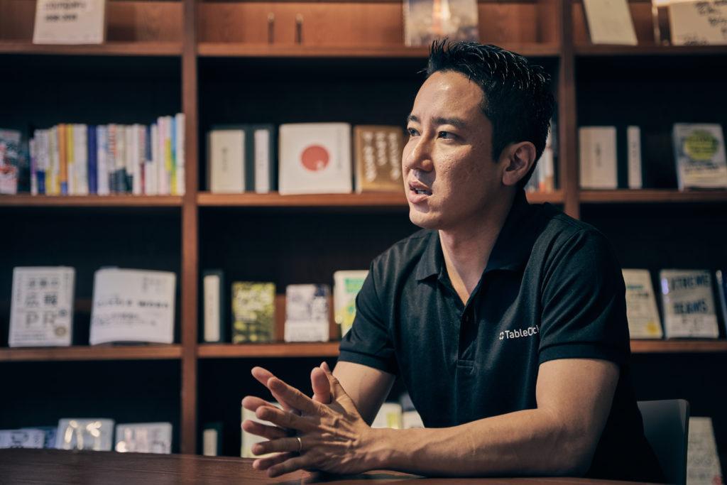 株式会社TableCheck(テーブルチェック)代表取締役 谷口 優