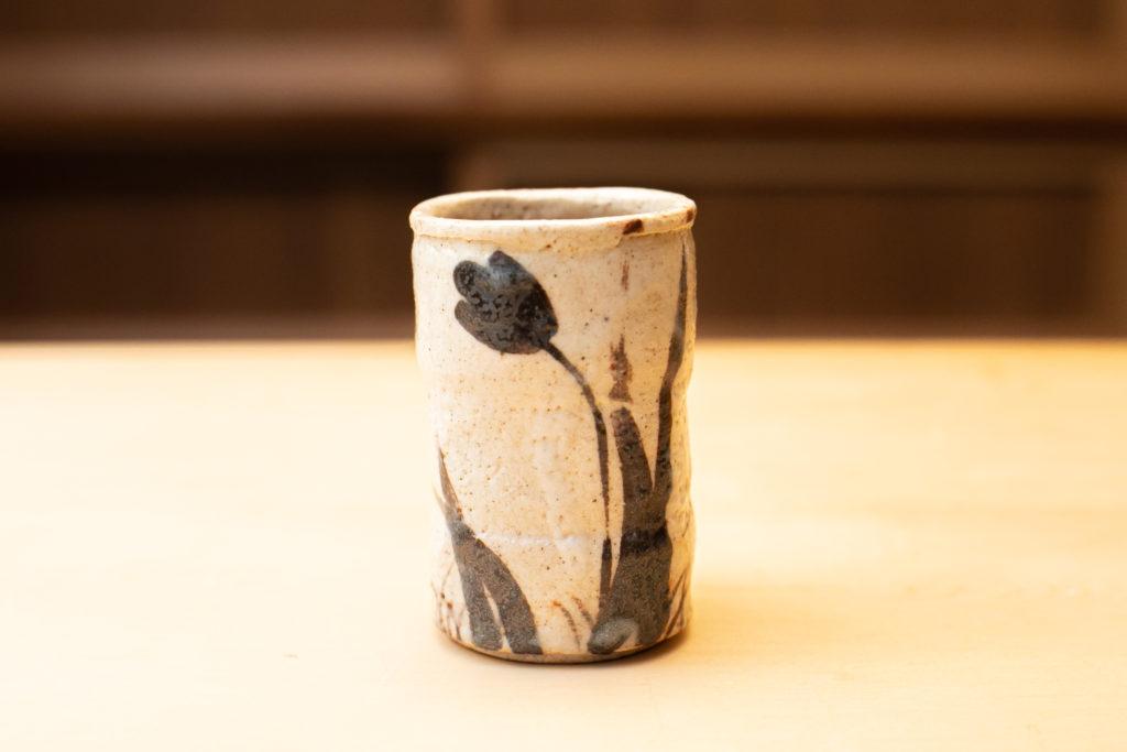 陶芸作家・瀧川恵美子さんの湯呑の写真