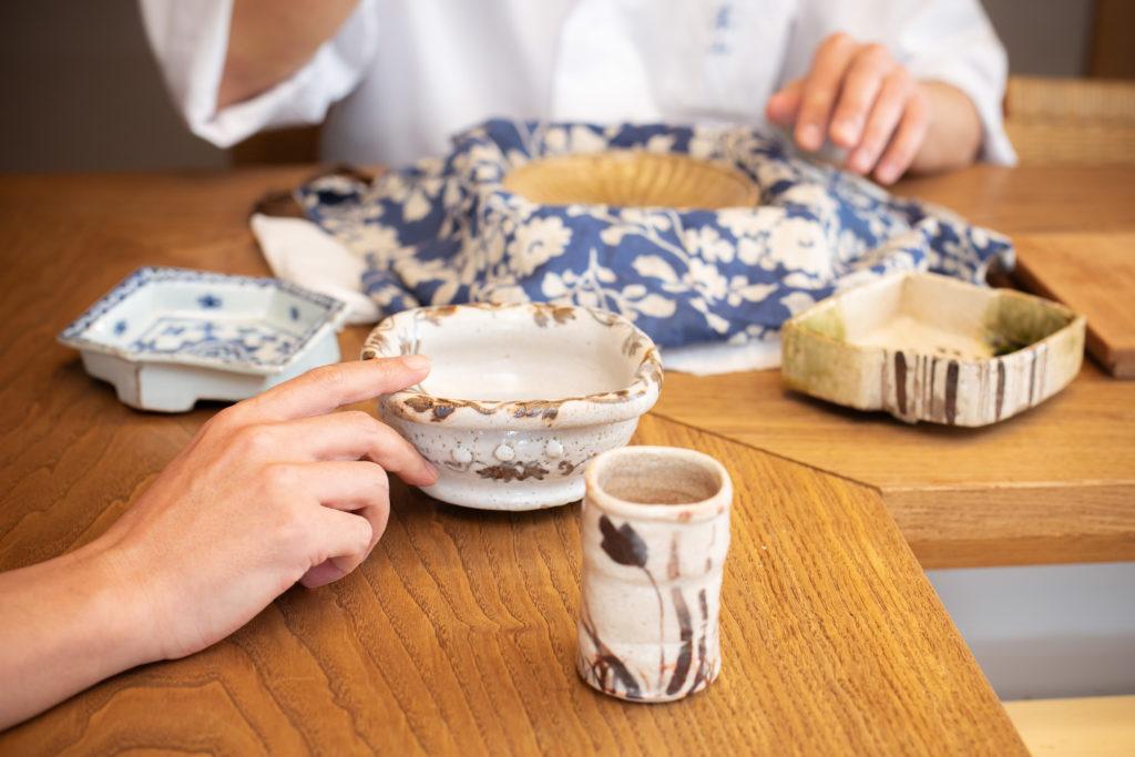 宮澤 政人さん所有の日本料理の器の写真