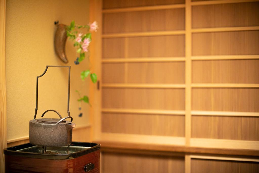 京都会席料理【木山】の内観