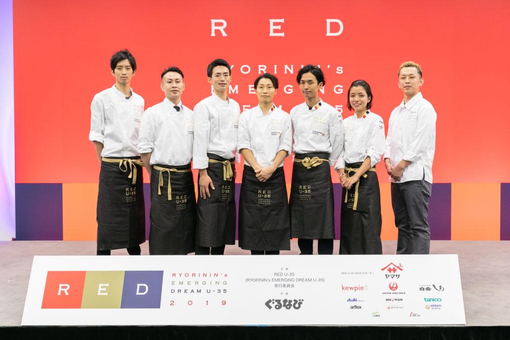 RED U−35 2019出場者